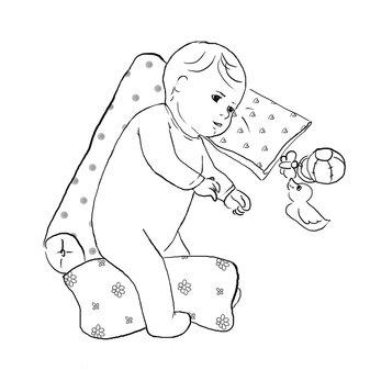 Plagiocefalia: come prevenire la testa piatta nel neonato