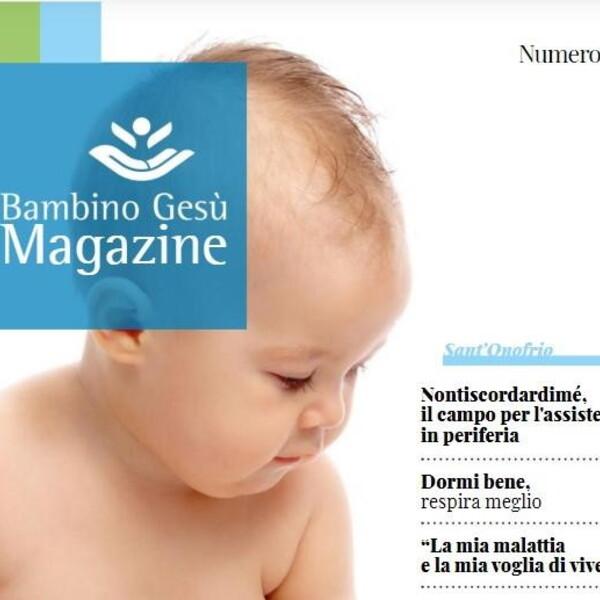 Il Dipartimento Pediatrico Universitario-Ospedaliero: il numero 7 di OPBG Magazine