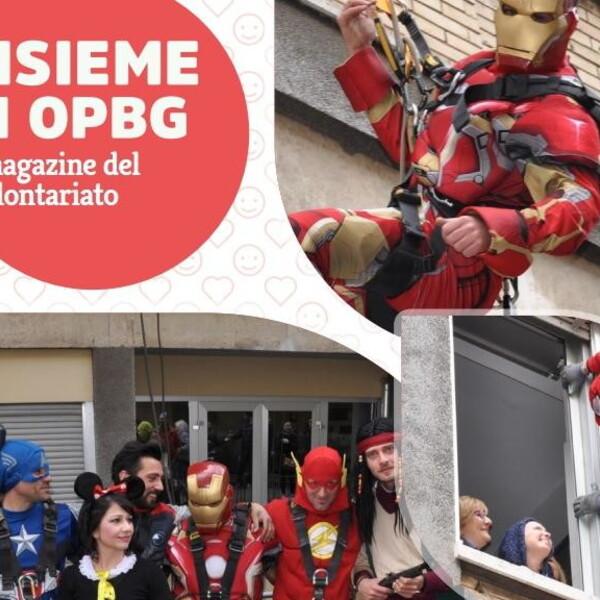Insieme in OPBG, cosa c'è nel numero di marzo del magazine dei volontari