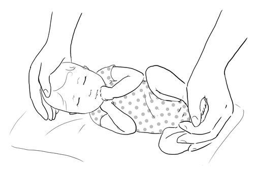 Contenere un neonato: perché e come