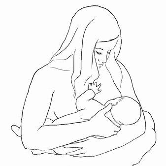 Allattamento al seno: come posizionare e attaccare il bambino