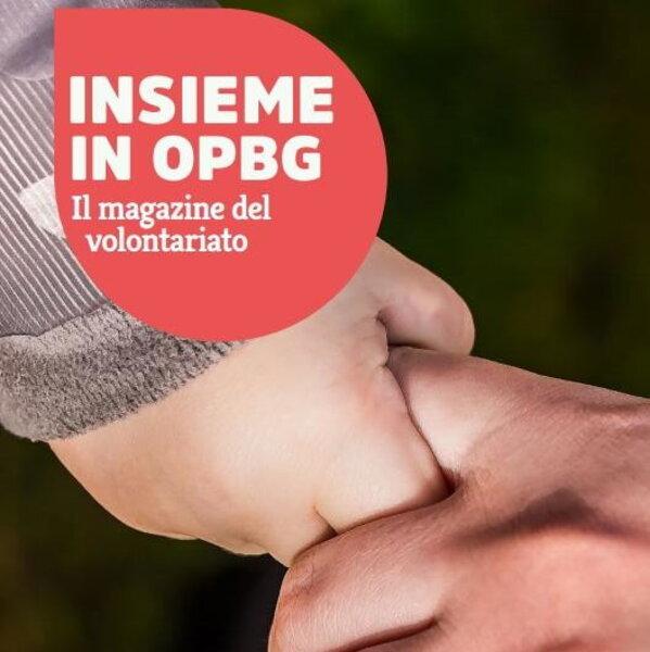 Tutto sul primo percorso di formazione volontari nel nuovo numero di Insieme in OPBG