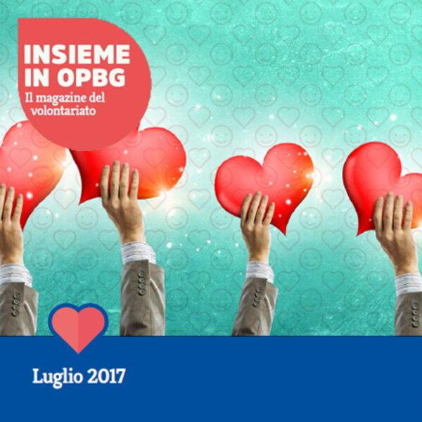 Insieme in OPBG, online il numero di luglio del magazine dei volontari