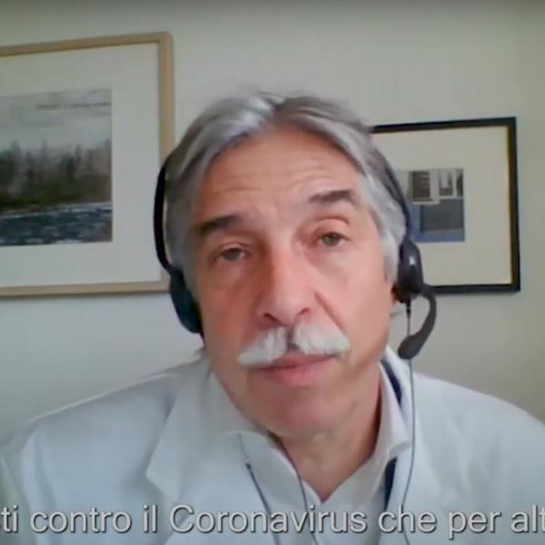 Nuovo Coronavirus, il vaccino AstraZeneca - Intervista al dott. Castelli Gattinara
