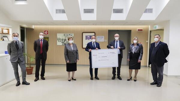 Donazione di organi, al Bambino Gesù l'installazione dell'artista Ale Giorgini