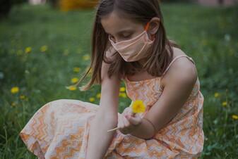 Le mascherine per i bambini