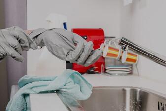 Come pulire la casa durante l'epidemia