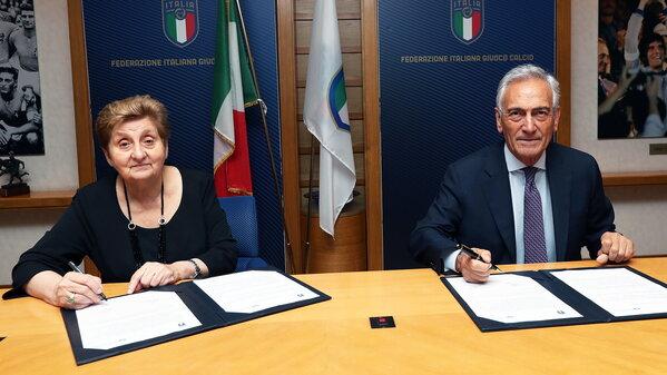 Firmato un accordo di collaborazione con FIGC