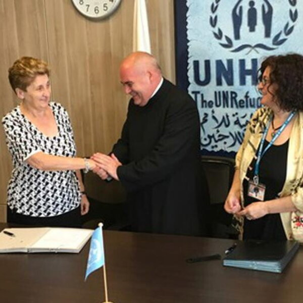 UNCHR e Bambino Gesù insieme per curare bambini rifugiati e giordani